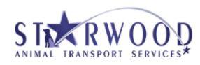 starwood animal transport services logo
