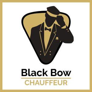 black bow chauffeur logo